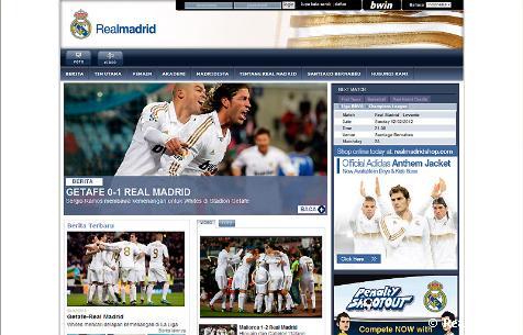 Realmadrid.com الهوية