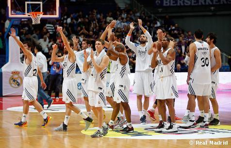 Real Madrid - Club Baloncesto Valladolid