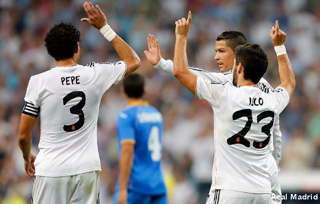 Real Madrid C.F. - Getafe C.F. 4:1