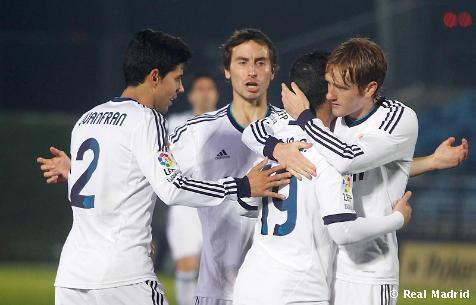 Real Madrid Castilla - Numancia