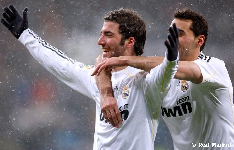 Real Madrid-Mallorca Van Der Vart