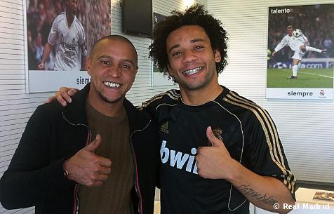 بالصور روبرتو كارلوس البرازيلي كارلوس اللاعبين التدريب
