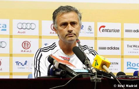 Rueda de prensa de Mourinho en Tianjin