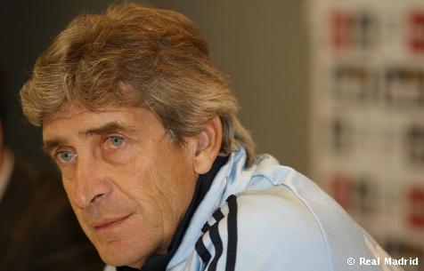 Pellegrini, entrenador del Real Madrid