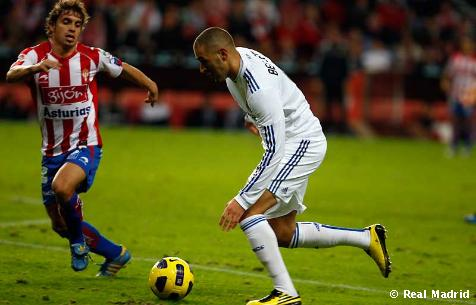 Sporting de Gijón - Real Madrid
