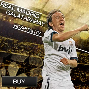 Tickets match Real Madrid - Galatasaray
