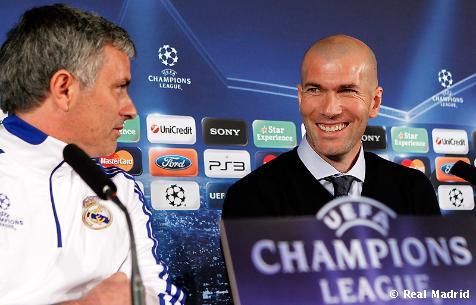 Zidane y Mourinho