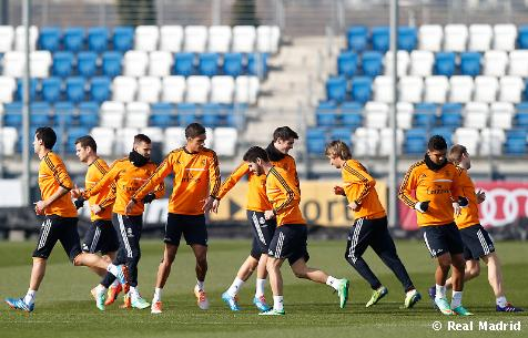 Real Madrid News Now, Real Madrid finish the first training session in preparation for Espanyol