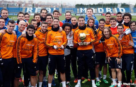 Real Madrid News Now, Team celebrated the Ballon d'Or award before training today [Photos]