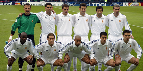 quality design 72422 f697c Real Madrid centenary shirt without sponsorship (2001-2002 ...