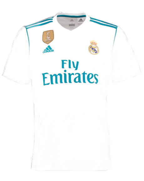 La Camiseta De La Decimotercera Real Madrid Cf