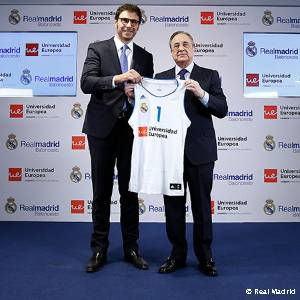 A Universidade Europeia patrocinará o basquetebol do Real Madrid