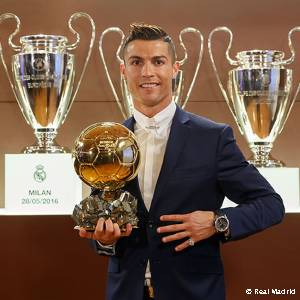 Cristiano Ronaldo wins his fourth Ballon d
