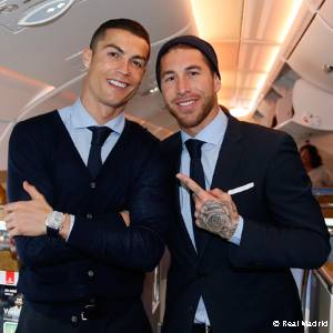 Real Madrid are en-route to Abu Dhabi