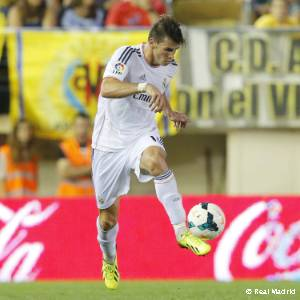 Bale. Villarreal-Real Madrid (2013), debut en Liga
