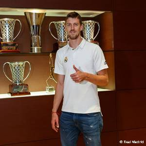 Kuzmic, new player of Real Madrid Basketball