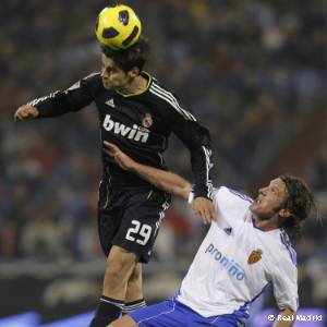 Morata. Zaragoza-Real Madrid (2010), debut en Liga
