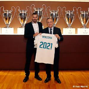 Benzema has signed his contract extension with Real Madrid