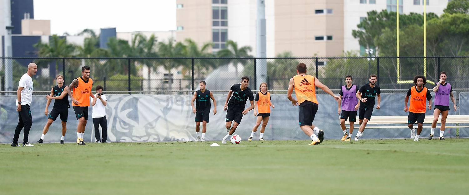 Real Madrid - Entrenamiento del Real Madrid en Miami - 31-07-2017