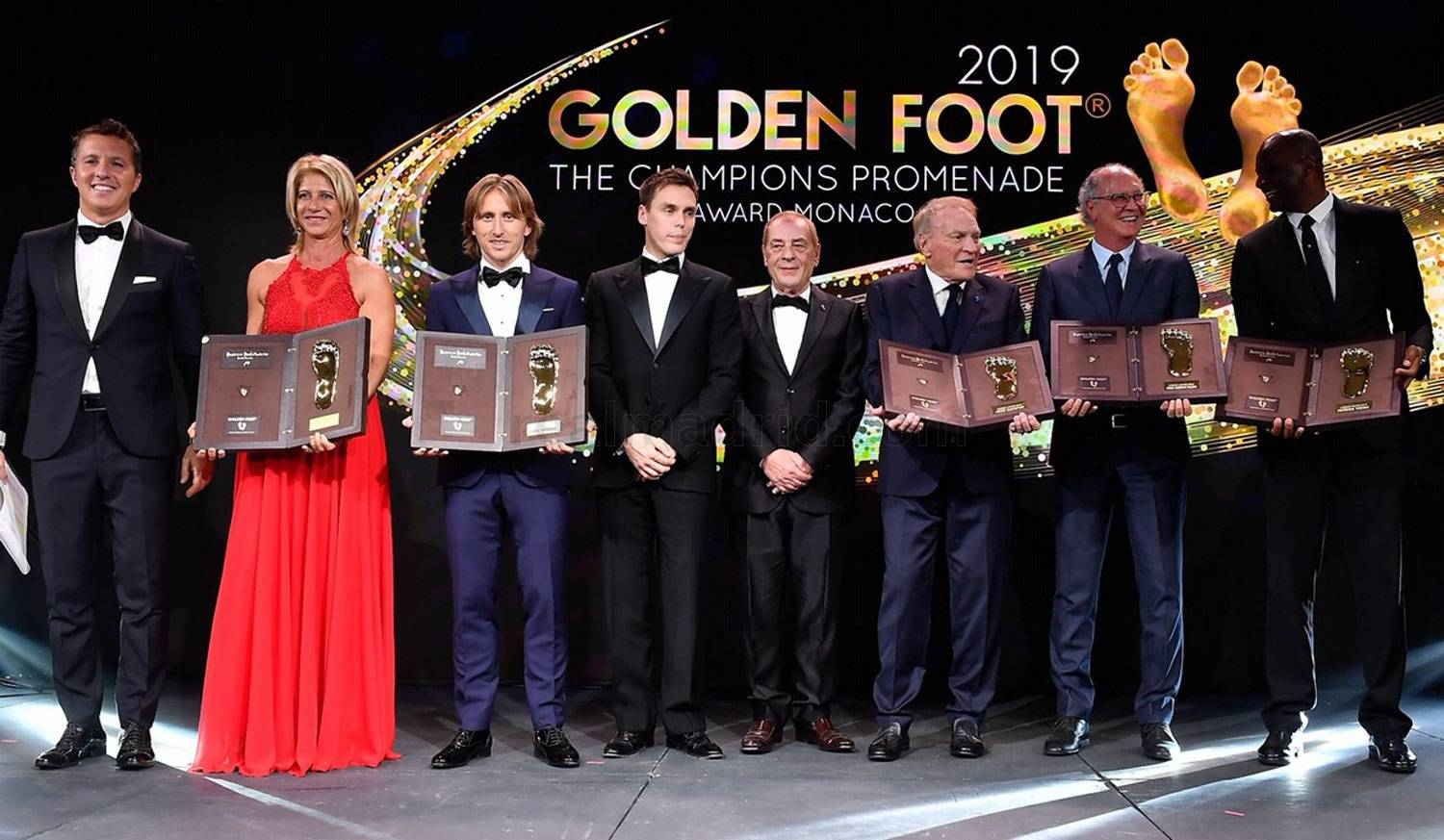 Real Madrid - Modric, Premio Golden Foot 2019 - 13-11-2019