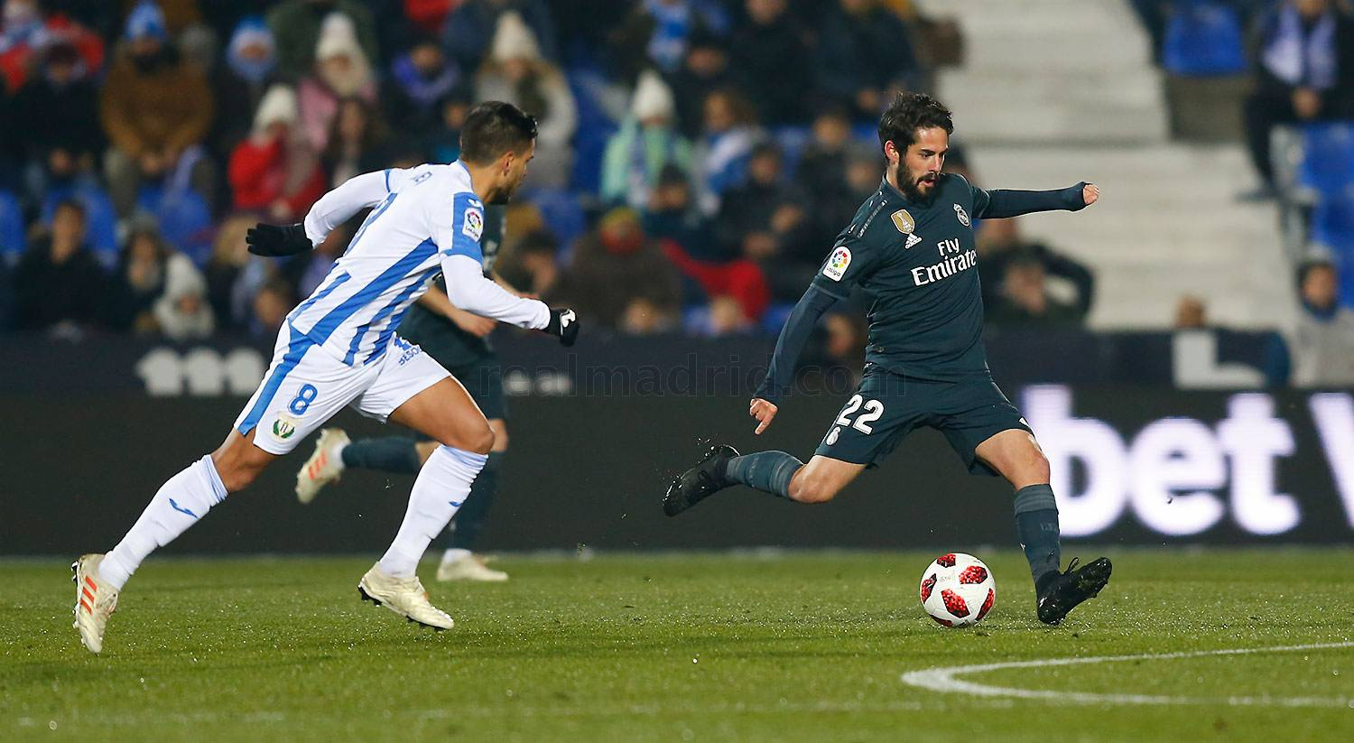 Real Madrid - Leganés - Real Madrid - 16-01-2019