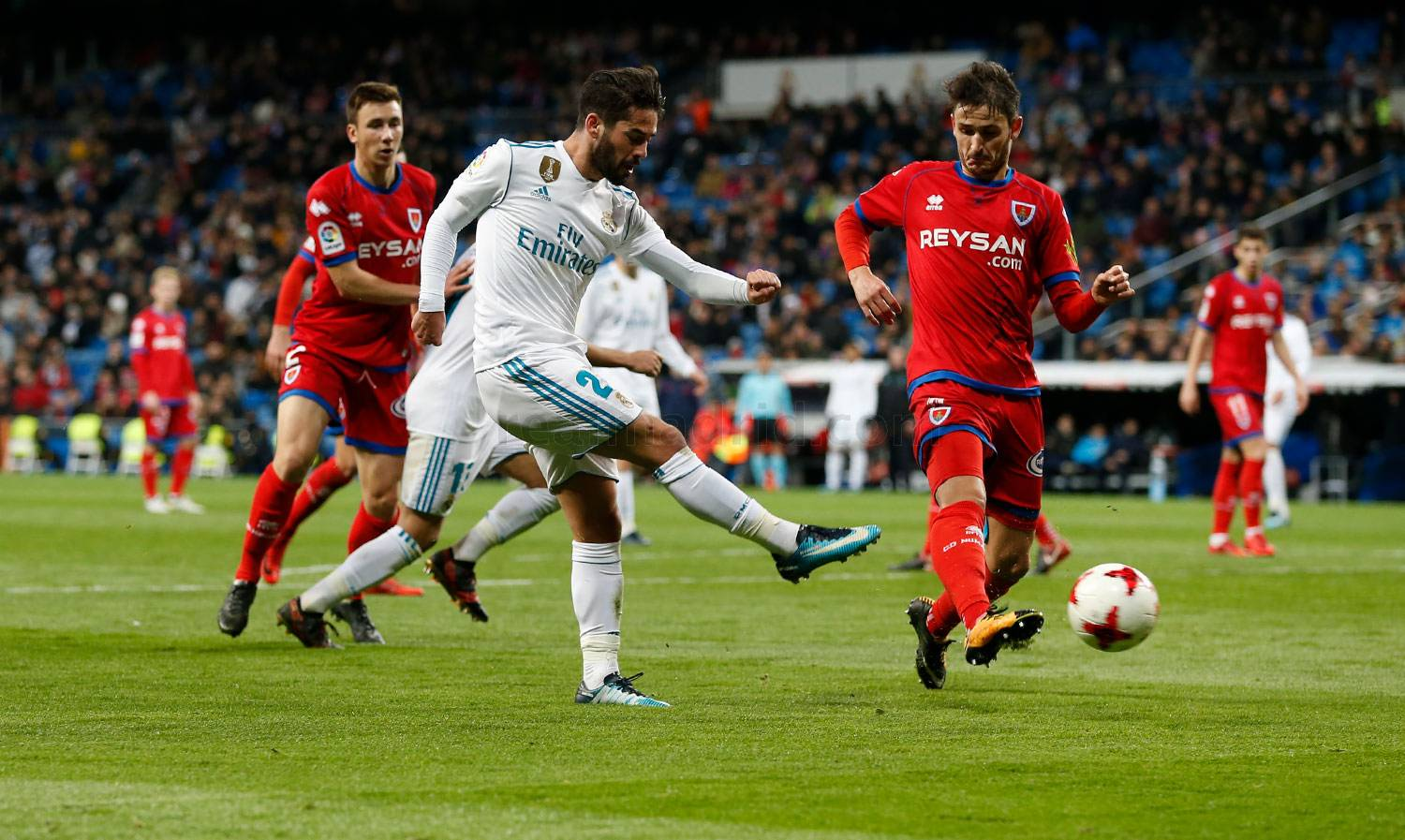 Real Madrid - Real Madrid - Numancia - 10-01-2018