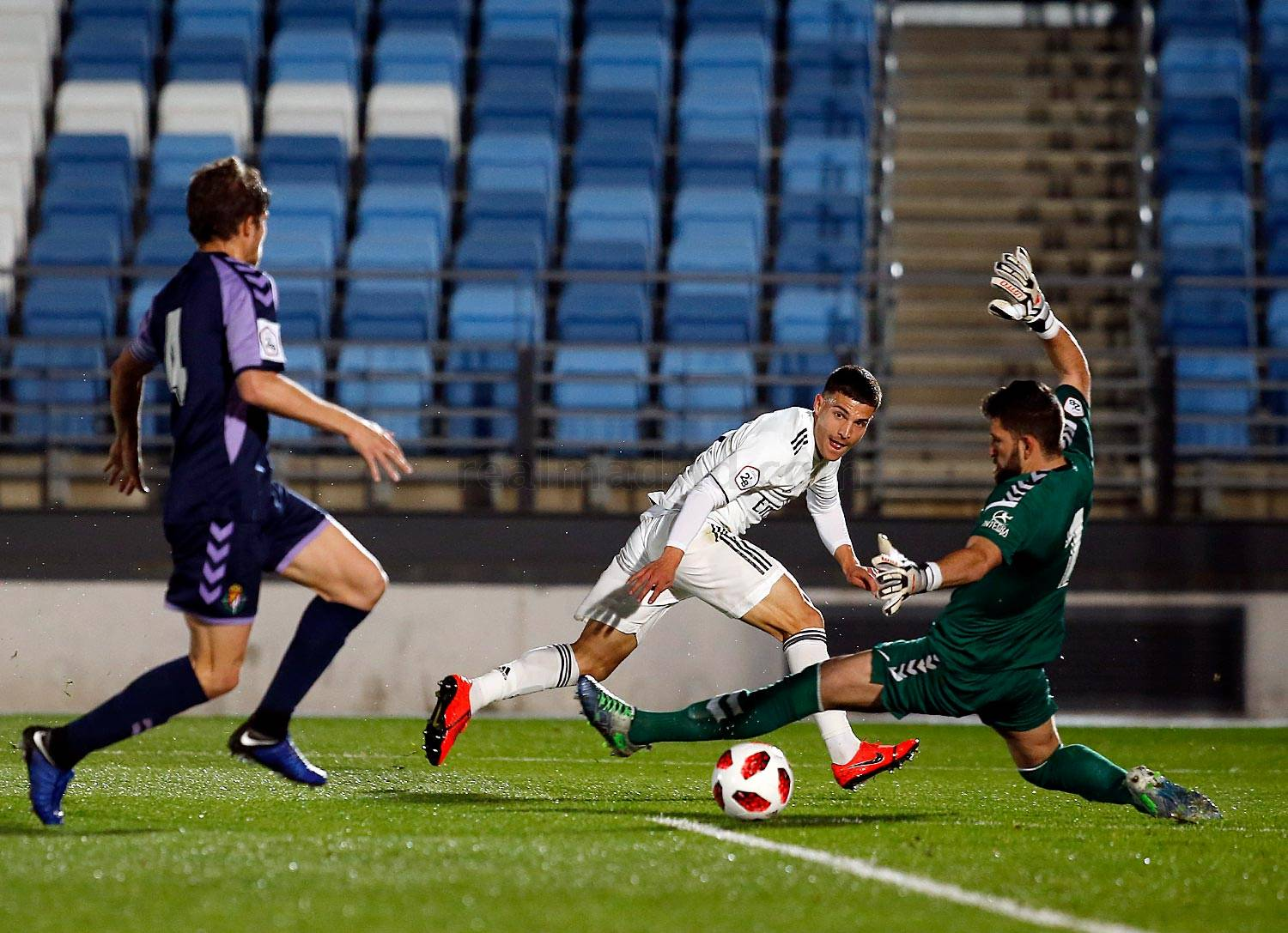 Real Madrid - Real Madrid Castilla - Valladolid B - 23-02-2019
