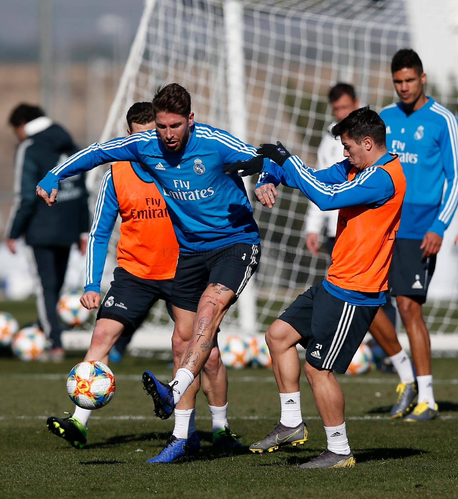 Real Madrid - Entrenamiento del Real Madrid - 05-02-2019