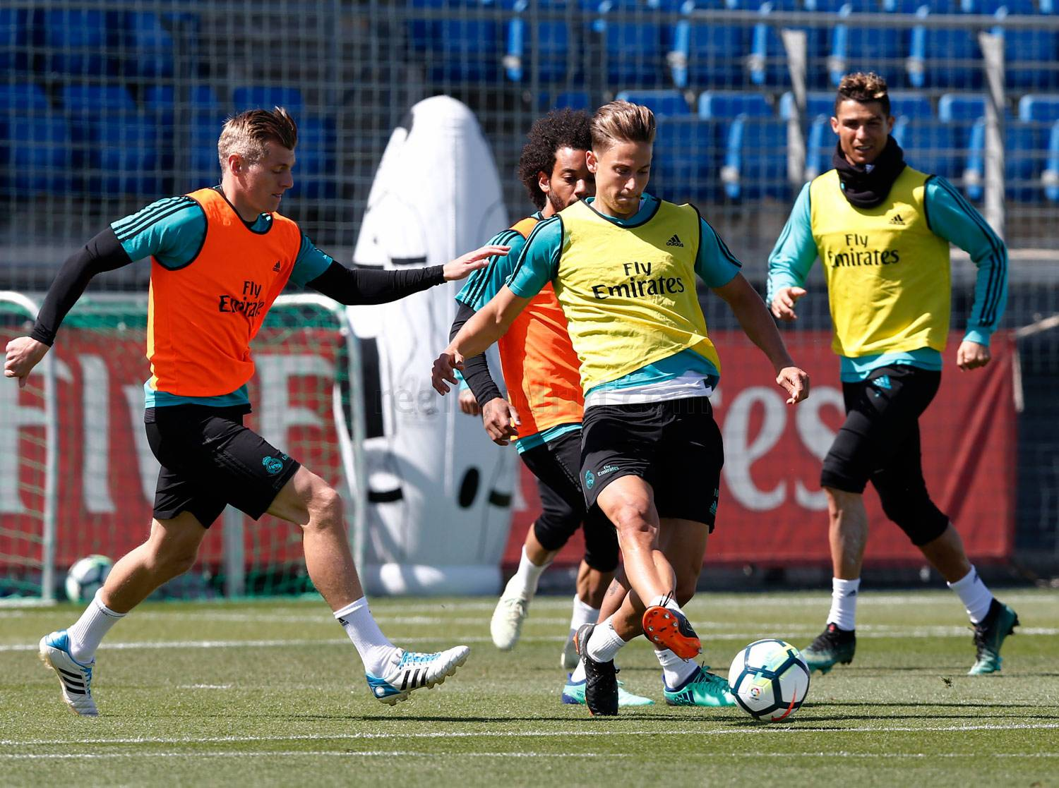 Real Madrid - Entrenamiento del Real Madrid - 04-05-2018