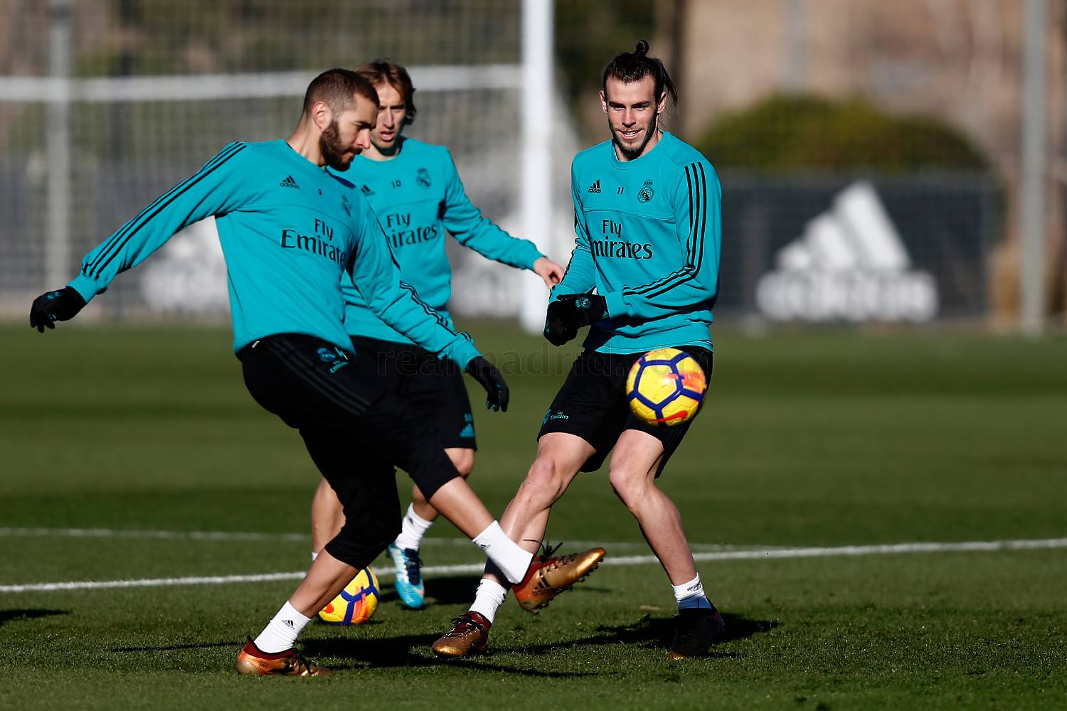 Real Madrid - Entrenamiento del Real Madrid - 21-12-2017