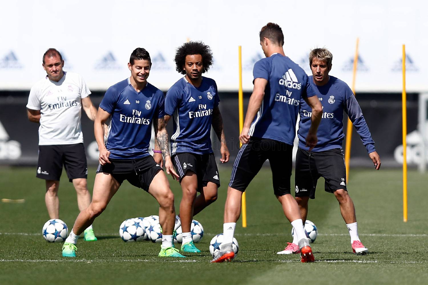 Real Madrid - Entrenamiento del Real Madrid - 08-05-2017