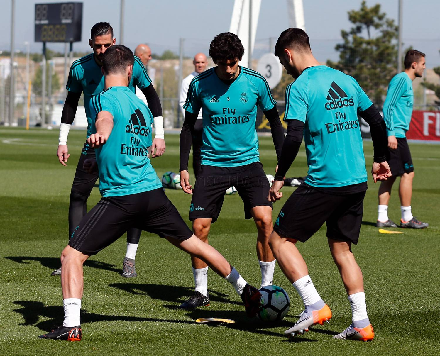 Real Madrid - Entrenamiento del Real Madrid - 05-05-2018