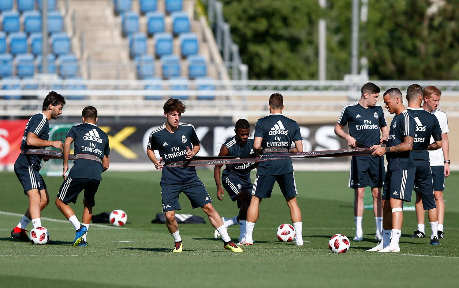 Real Madrid - Entrenamiento del Real Madrid - 19-07-2018