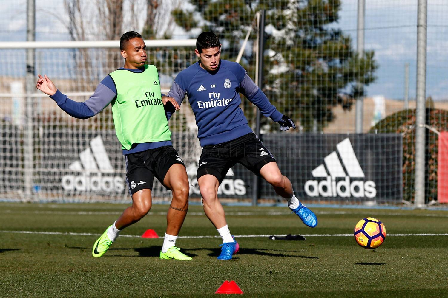 Real Madrid - Entrenamiento del Real Madrid - 08-02-2017