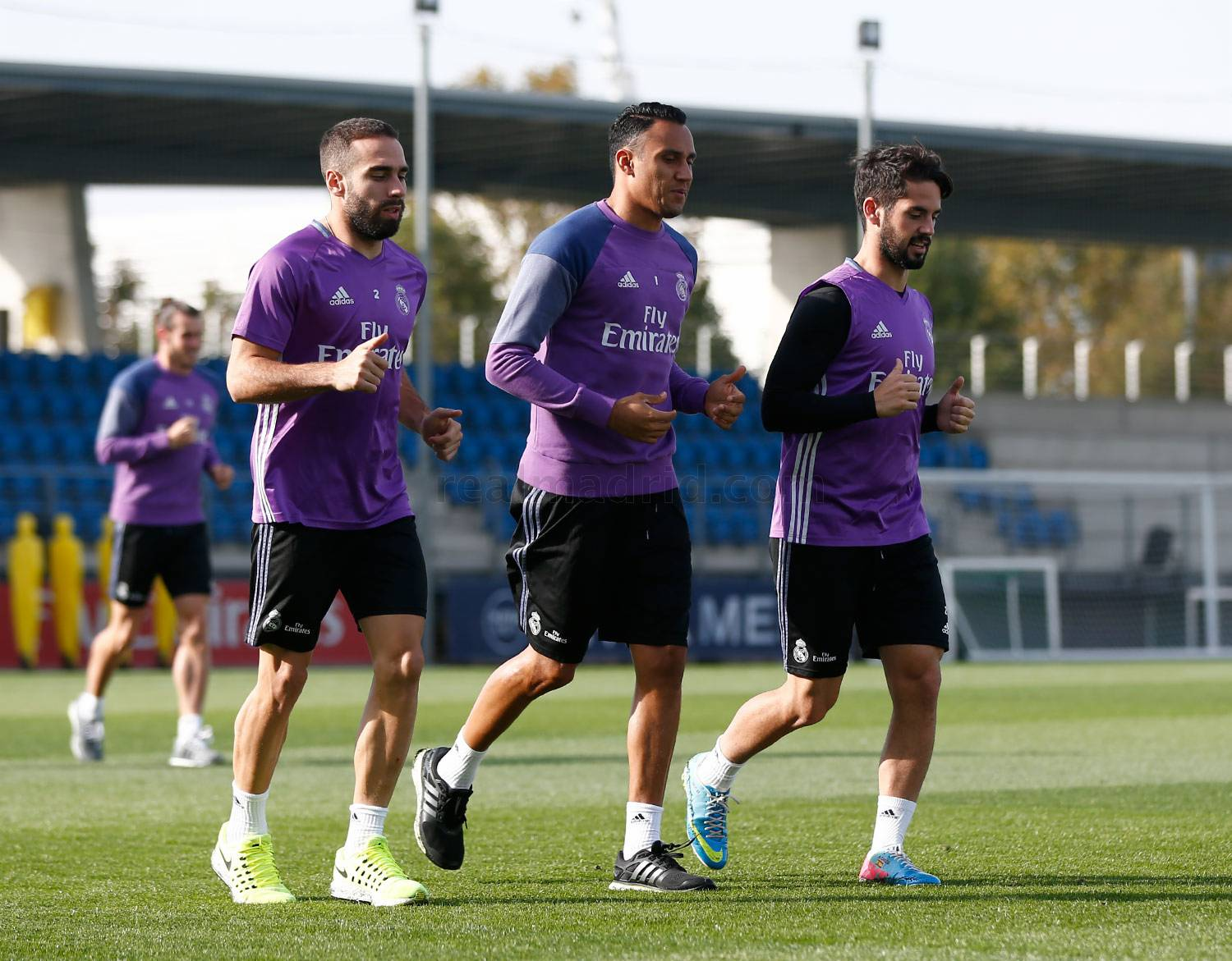 Real Madrid - Entrenamiento del Real Madrid - 16-10-2016