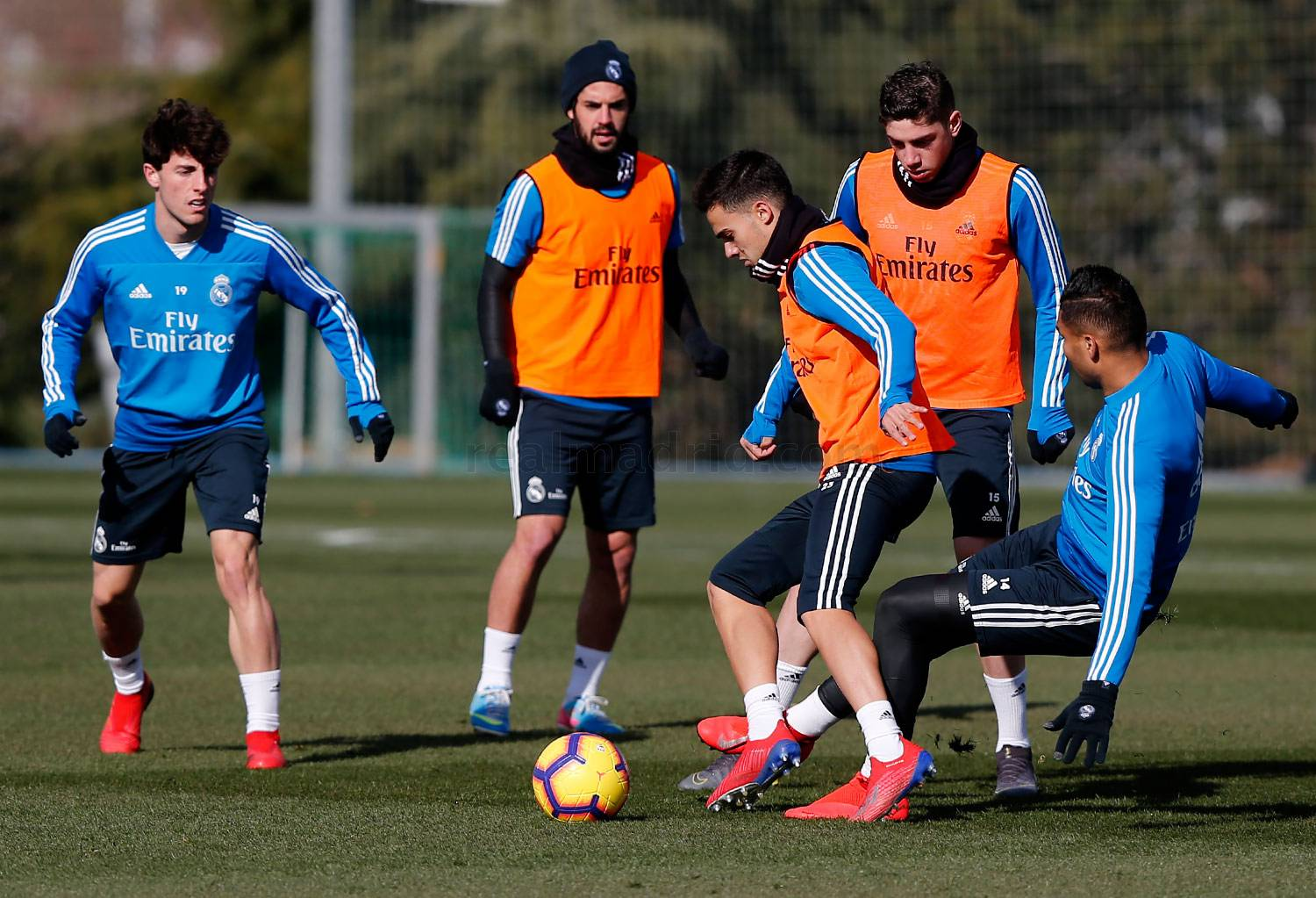 Real Madrid - Entrenamiento del Real Madrid - 01-02-2019