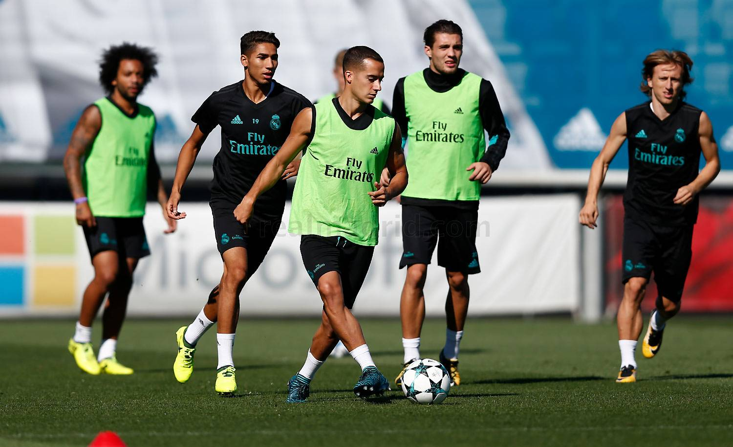 Real Madrid - Entrenamiento del Real Madrid - 11-09-2017