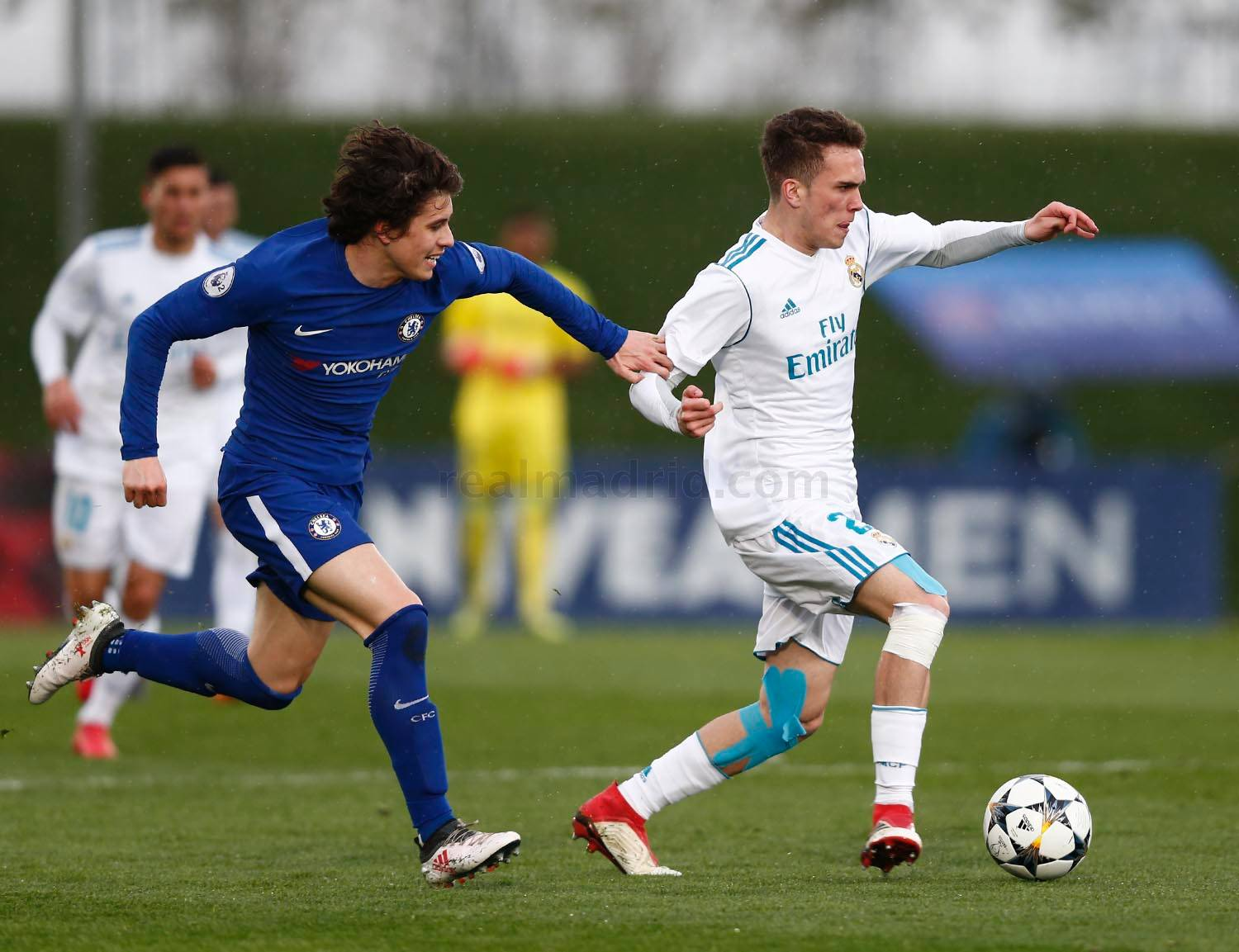 Real Madrid - Juvenil A - Chelsea - 14-03-2018