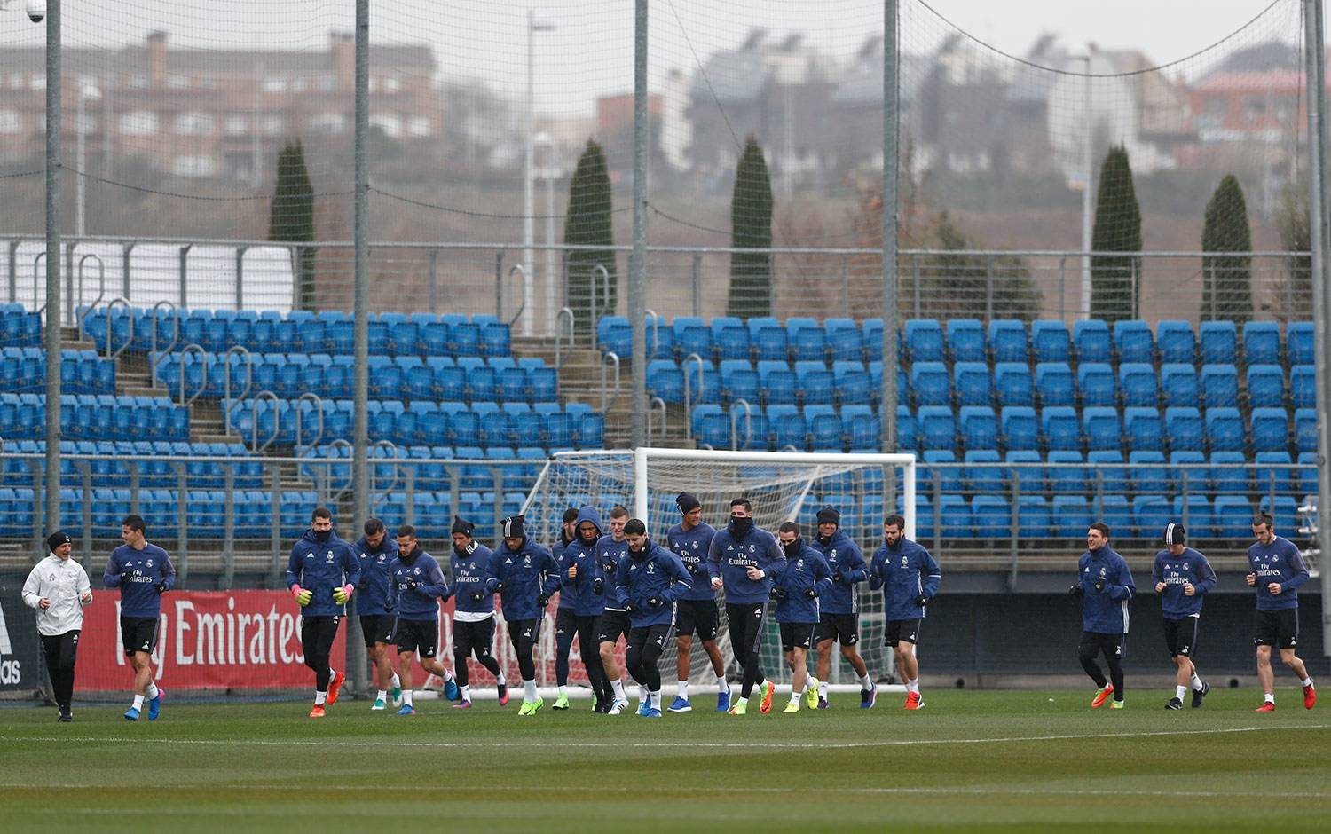 Real Madrid - Entrenamiento del Real Madrid - 12-02-2017
