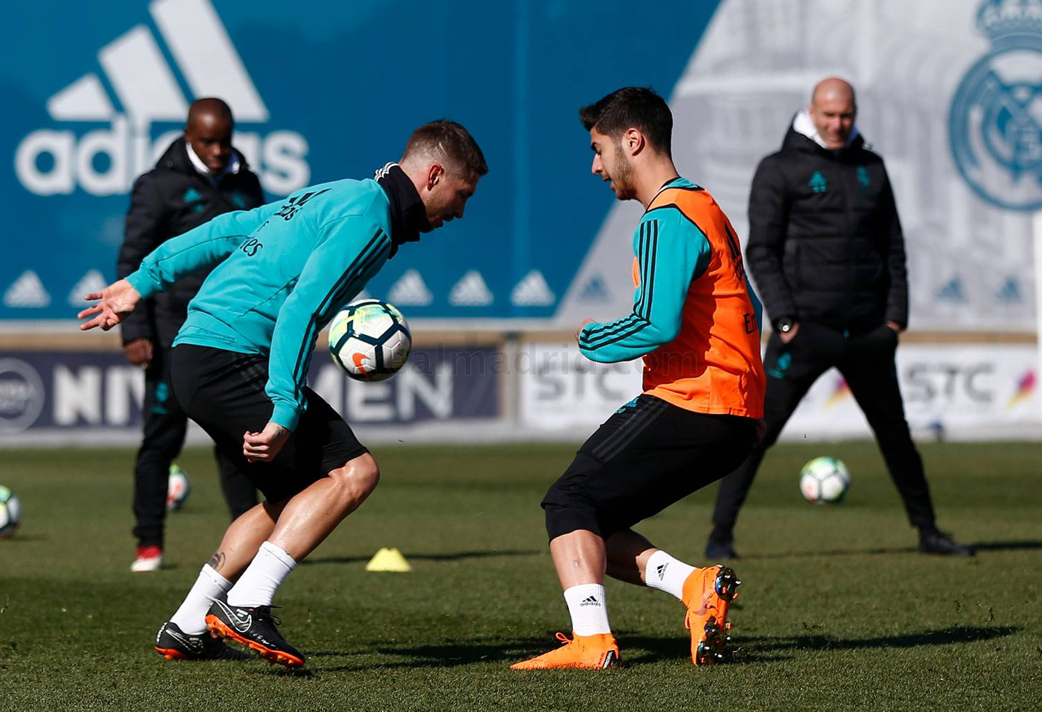 Real Madrid - Entrenamiento del Real Madrid - 25-02-2018