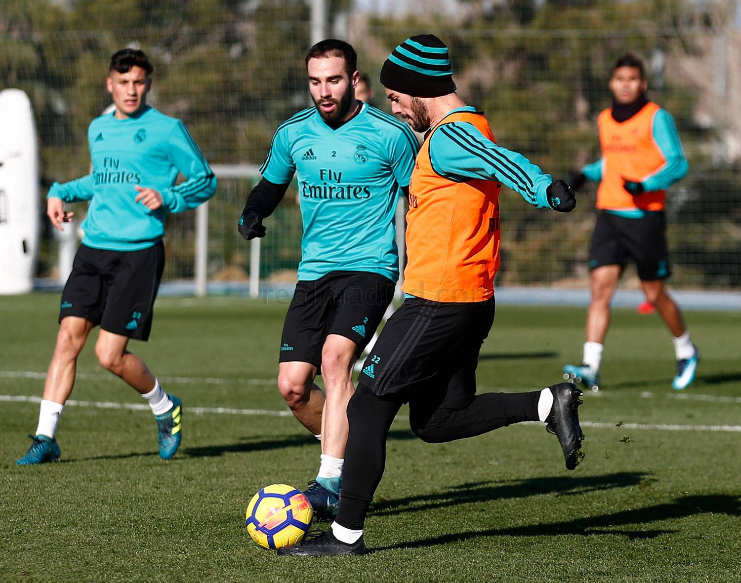 Real Madrid - Entrenamiento del Real Madrid - 11-01-2018