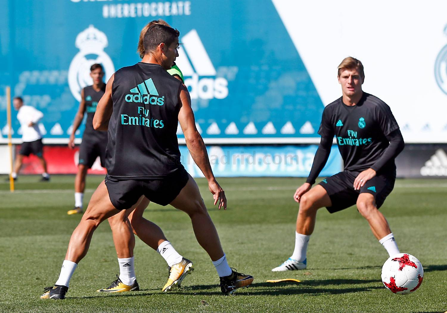 Real Madrid - Entrenamiento del Real Madrid - 10-08-2017
