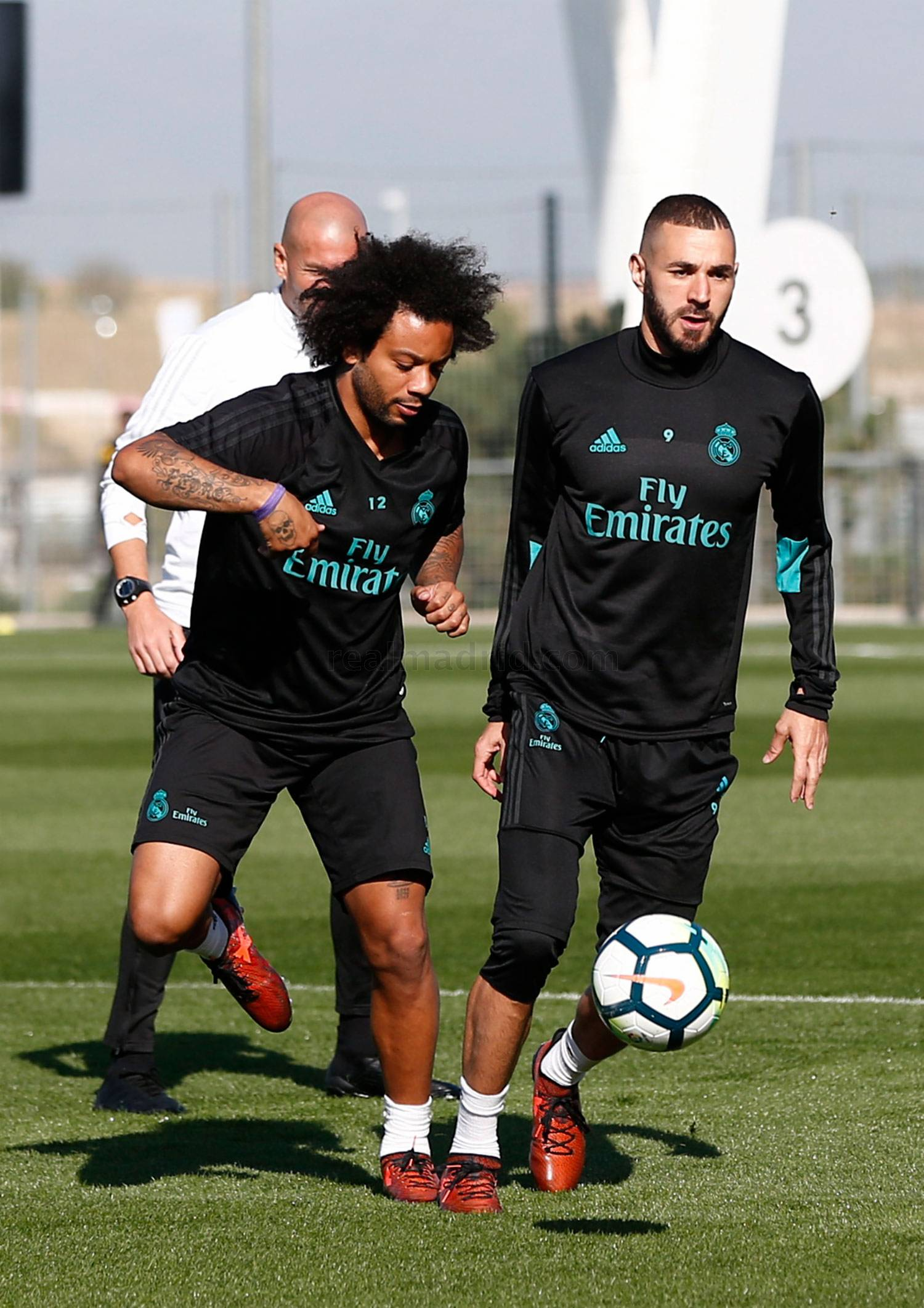 Real Madrid - Entrenamiento del Real Madrid - 13-10-2017
