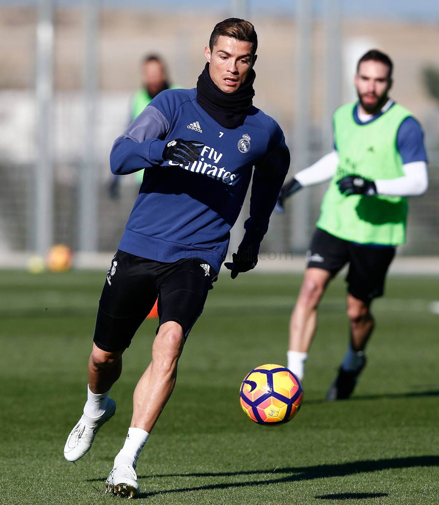 Real Madrid - Entrenamiento del Real Madrid - 06-01-2017