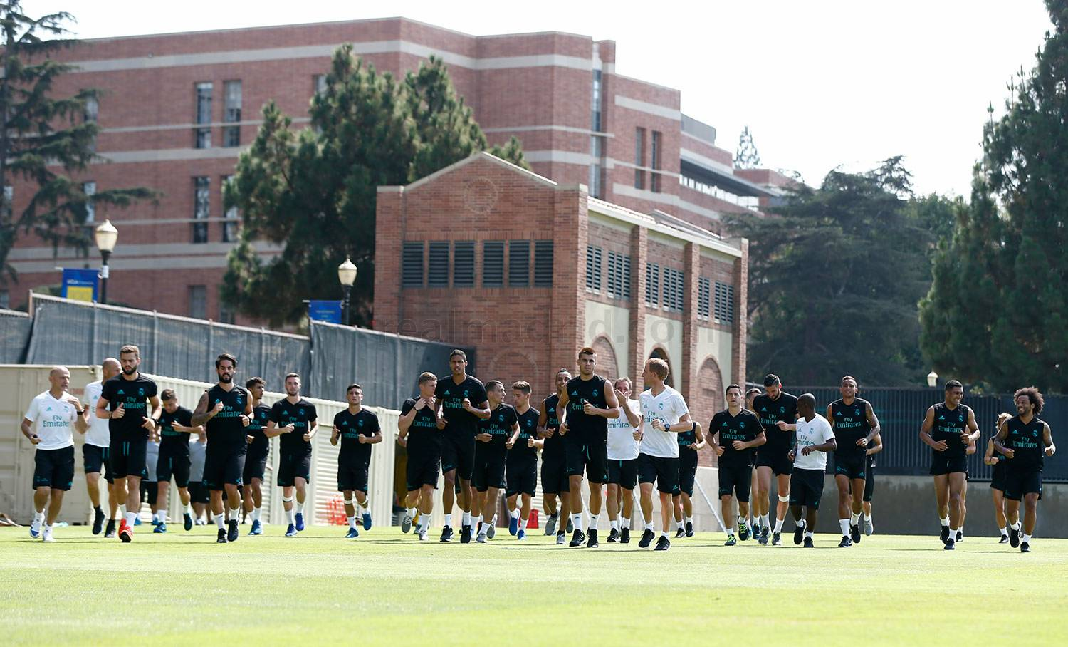 Real Madrid - Entrenamiento del Real Madrid en UCLA - 16-07-2017