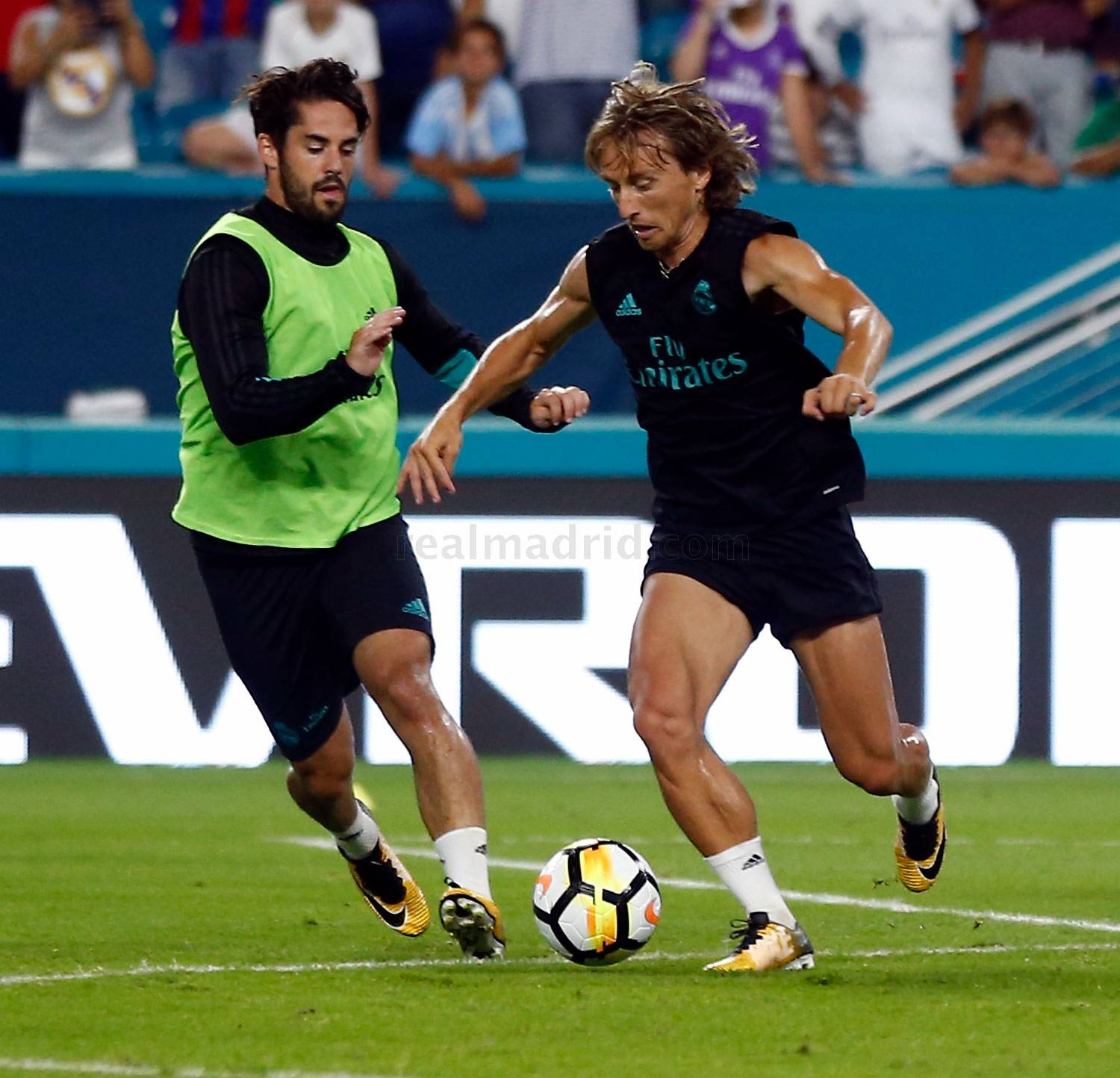 Real Madrid - Entrenamiento del Real Madrid en Miami - 29-07-2017