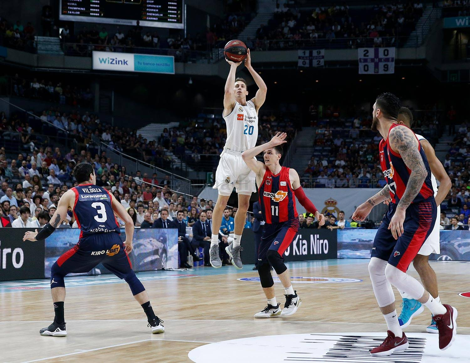 Real Madrid - Real Madrid - Kirolbet Baskonia - 15-06-2018