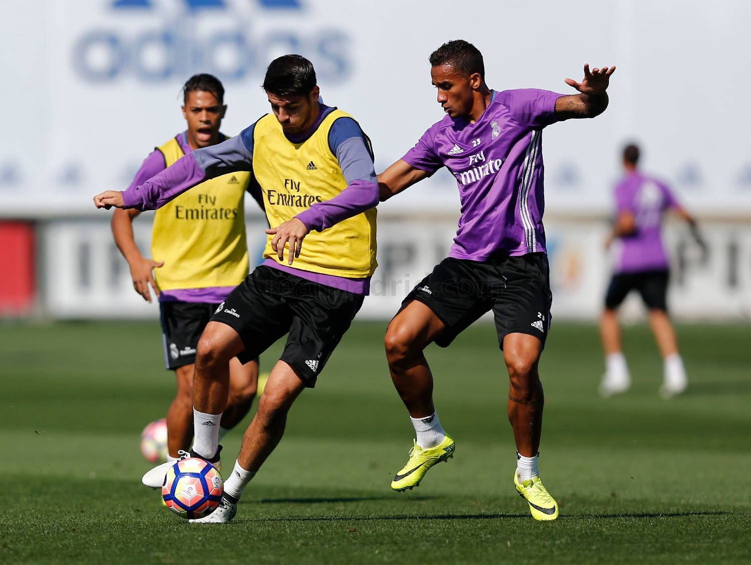 Real Madrid - Entrenamiento del Real Madrid - 23-09-2016
