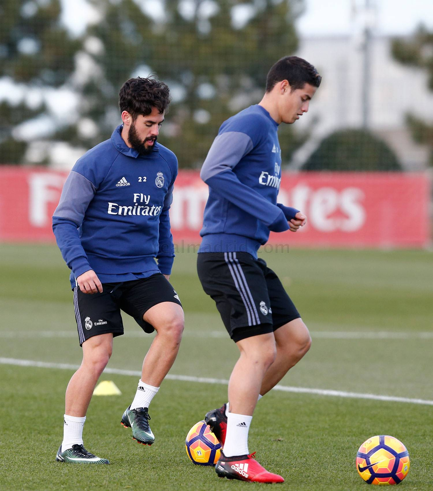 Real Madrid - Entrenamiento del Real Madrid - 13-01-2017