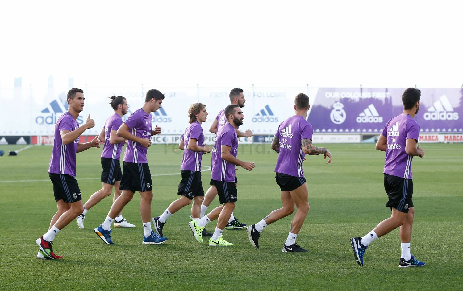Real Madrid - Entrenamiento del Real Madrid - 25-09-2016